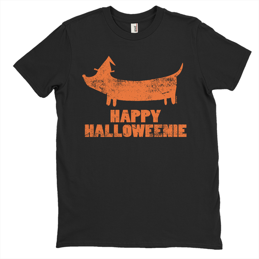 Happy Halloweenie Weiner Dog T-Shirt