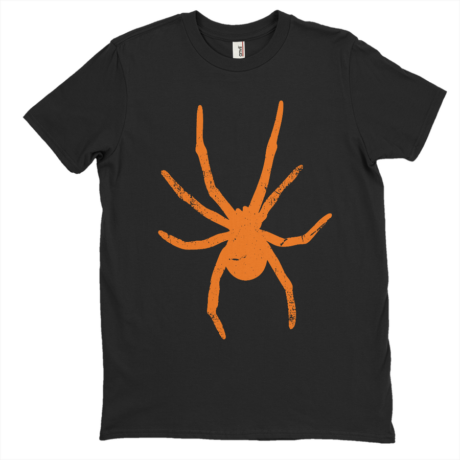 Orange Halloween Spider T-Shirt