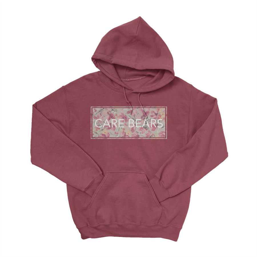 Care Bears Floral Stamp Pullover Hoodie