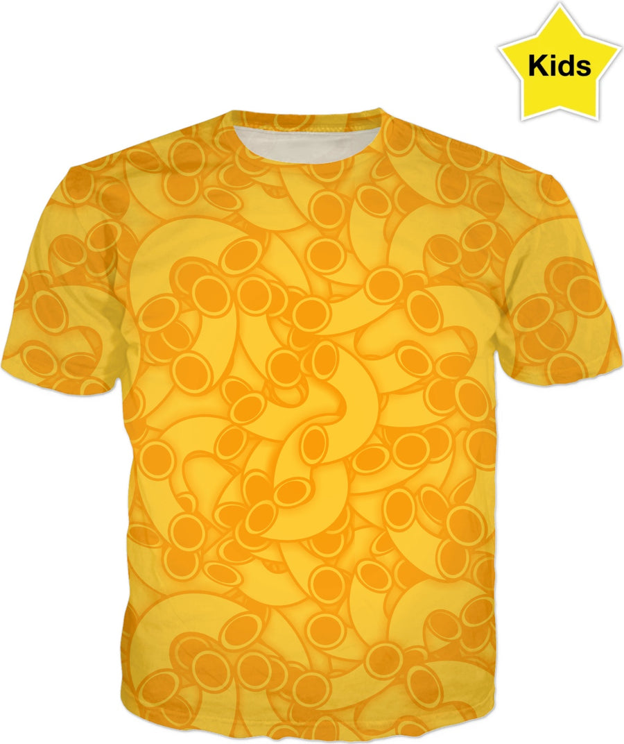 mac and cheese kids shirt