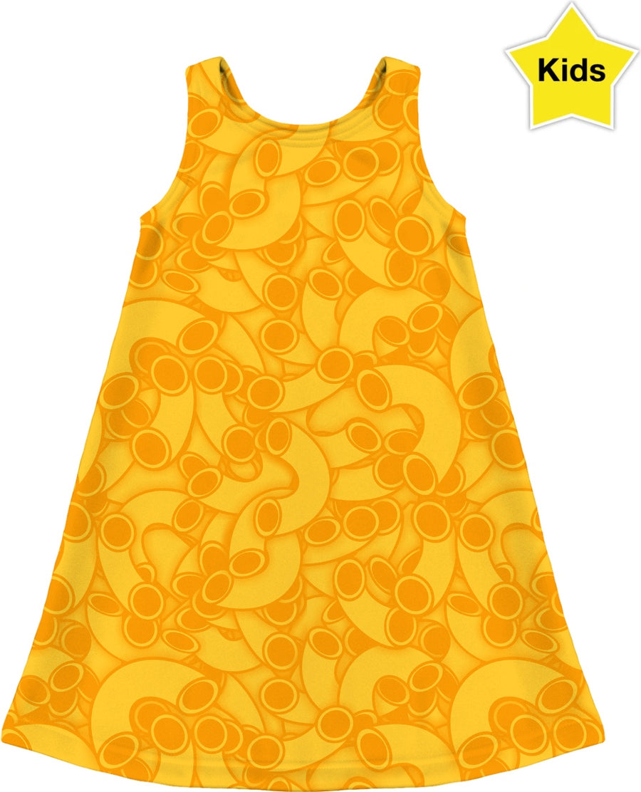 mac and cheese kids dress
