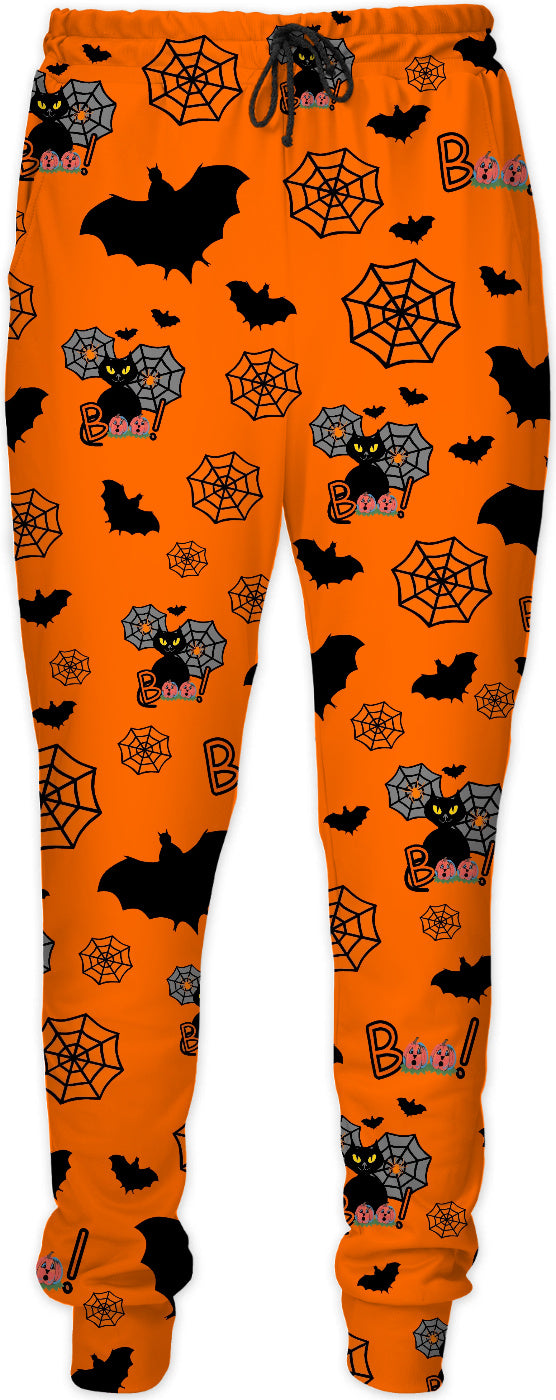 Halloween Black Cats Joggers