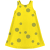 sponge pattern kids dress
