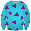 cartoon wallaby triangle pattern sweater