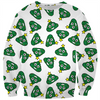 Christmas tree poo emoji ugly Christmas kids sweater