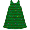 Christmas lights ugly Christmas sweater kids dress