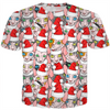 Christmas sphynx (naked cat) ugly christmas sweater tee