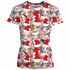 Christmas sphynx (naked cat) ugly christmas sweater ladies tee