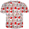 christmas sphynx ugly sweater design tee