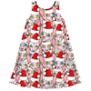 christmas sphynx ugly sweater design kids dress
