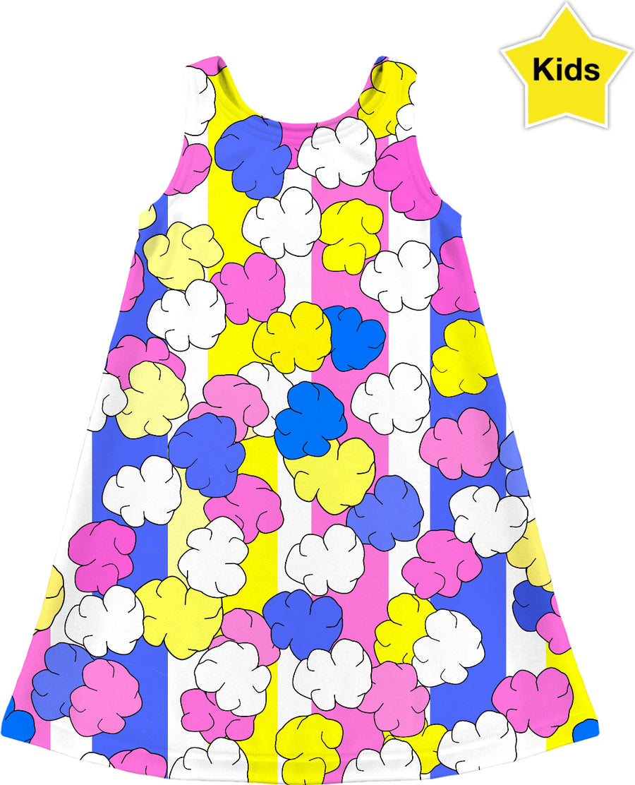 Candied Popcorn Kids Dress