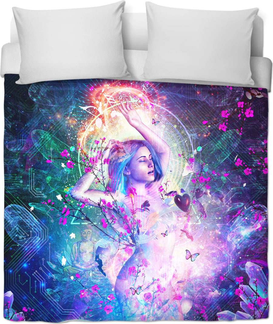 Encounter With The Sublime - Duvet Cover