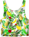 Tropical Paradise With Fruit Crop Top