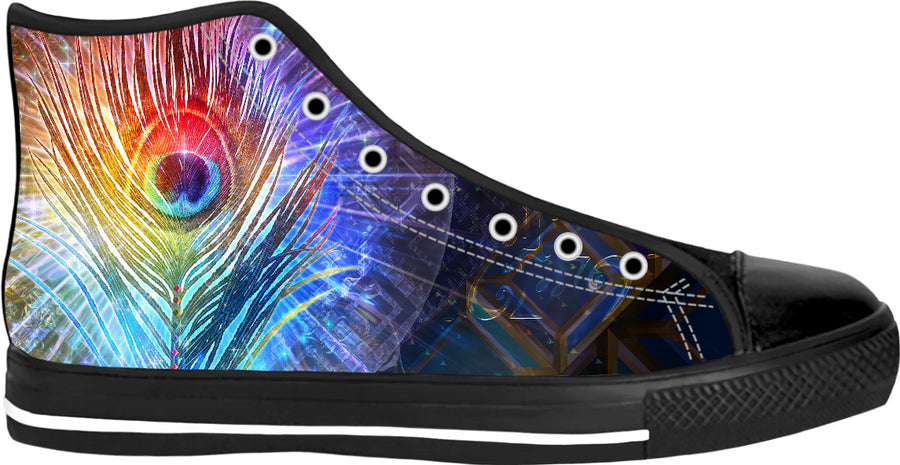 Peacock High Tops