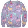 Care Bears Winter Fun Pattern Sweatshirt