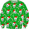 Skulls And Candy Canes Sweatshirt
