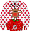 Ugly Christmas Sweater For Reindeers Sweatshirt