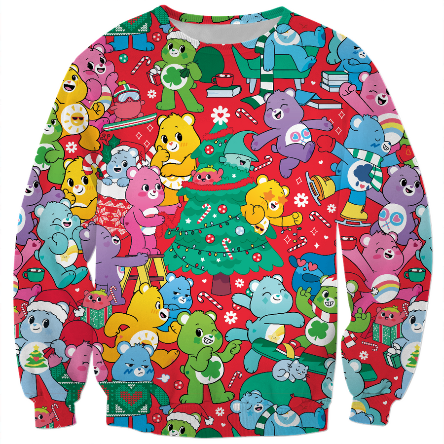 Care Bears Christmas Tree Sweatshirt
