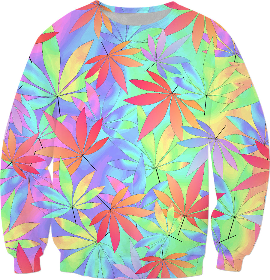 Trippy Weed Sweatshirt