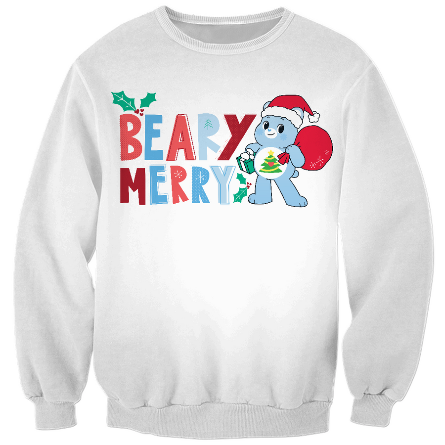 Care Bears Beary Merry Christmas Sweatshirt