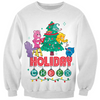 Care Bears Holiday Cheer Kids Christmas Sweatshirt