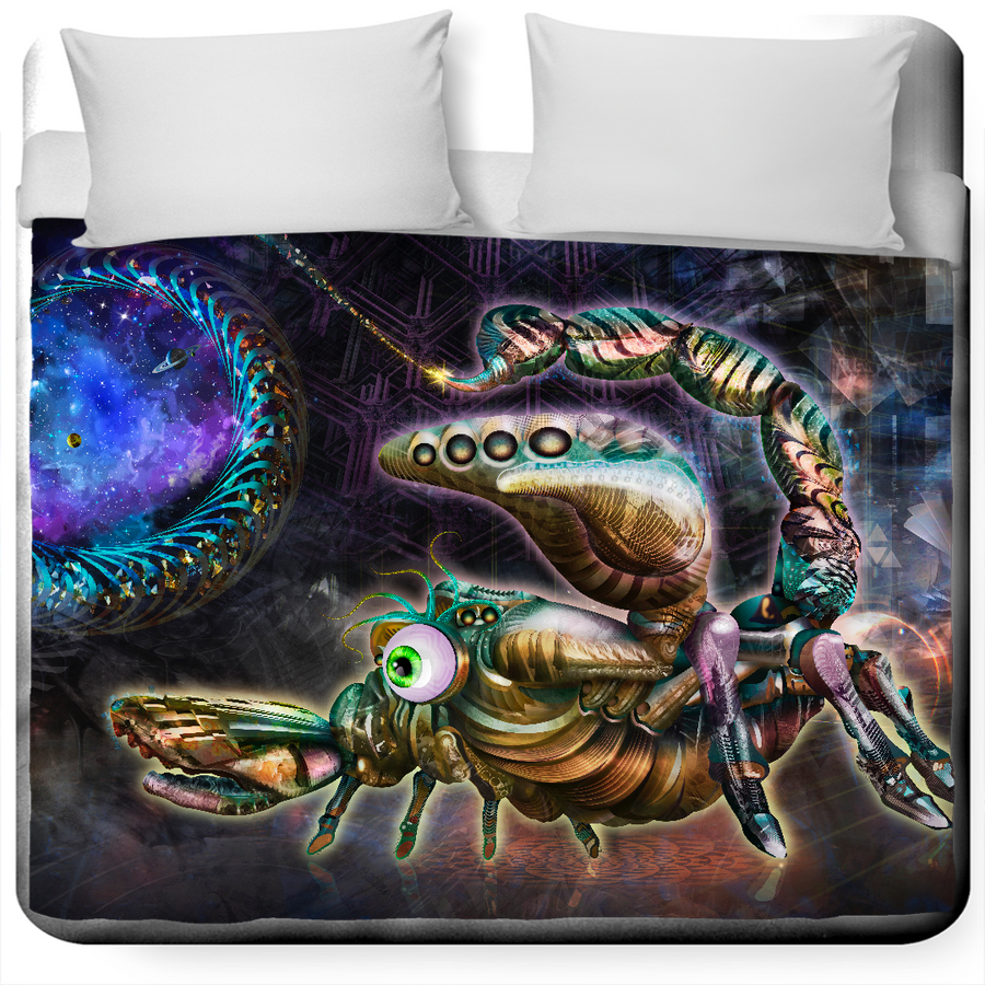 Portal Scorpion King Size Duvet Cover
