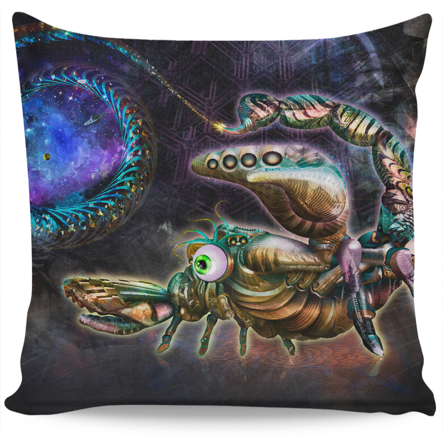Portal Scorpion Pillow Case