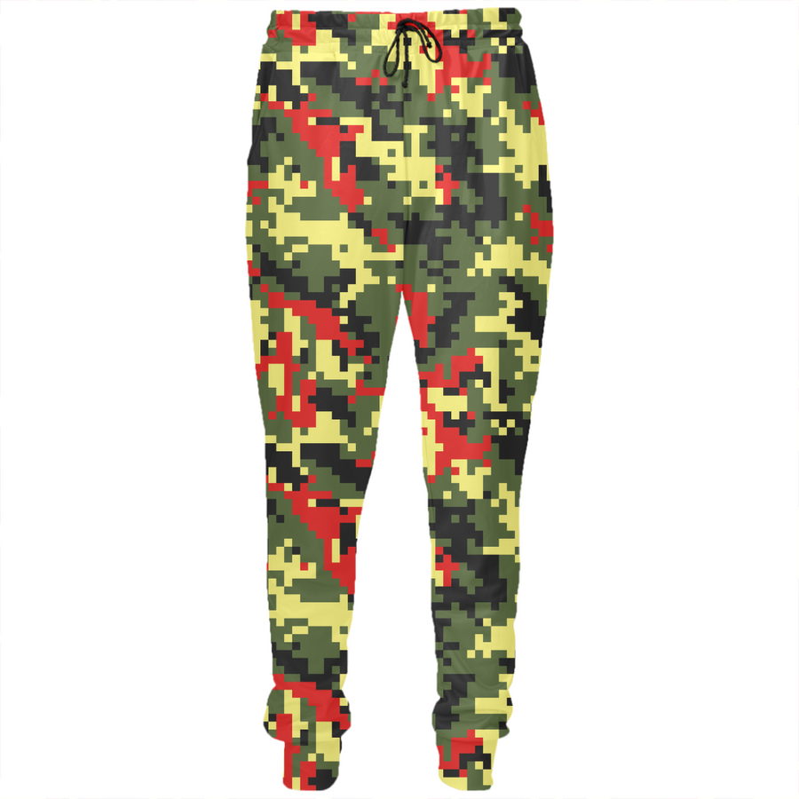 Tropical Savanna Forest Modern Fashion Camouflage Unisex Joggers