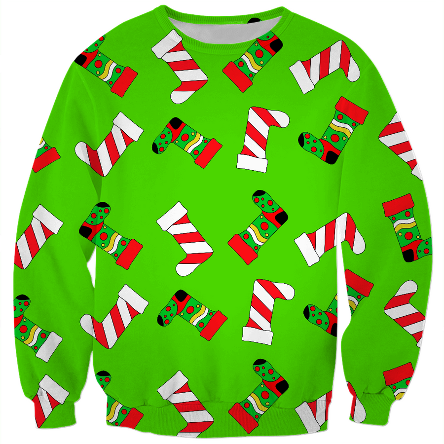 Christmas Stockings Kids Sweatshirt