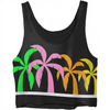 Palm Good Vibes Crop Top