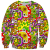 70s psychedelic kids sweater