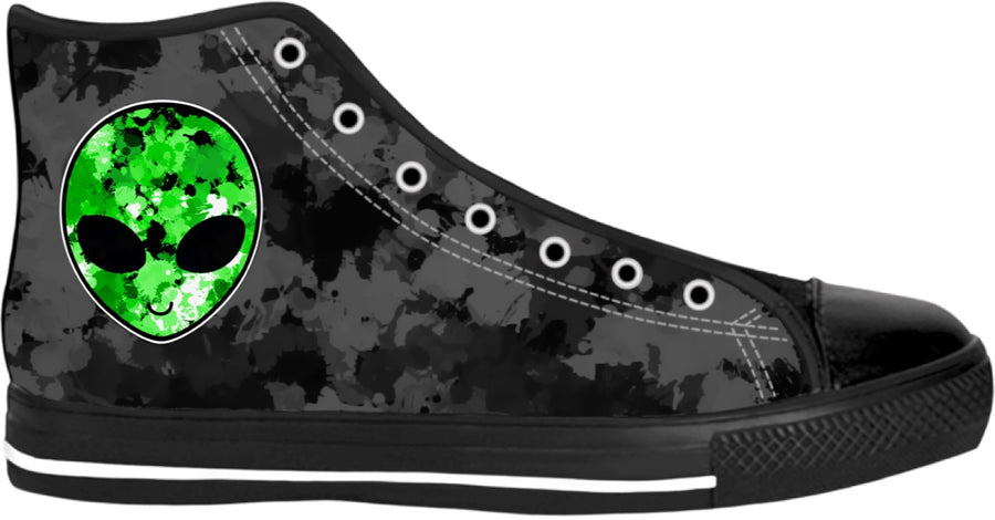 Alien Hi-Top Sneakers