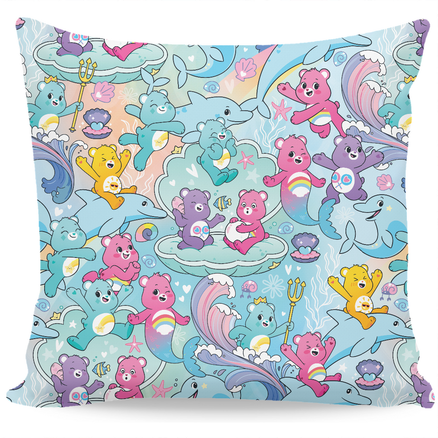 Care Bears Merbears are Magic Double Sided Couch Pillow