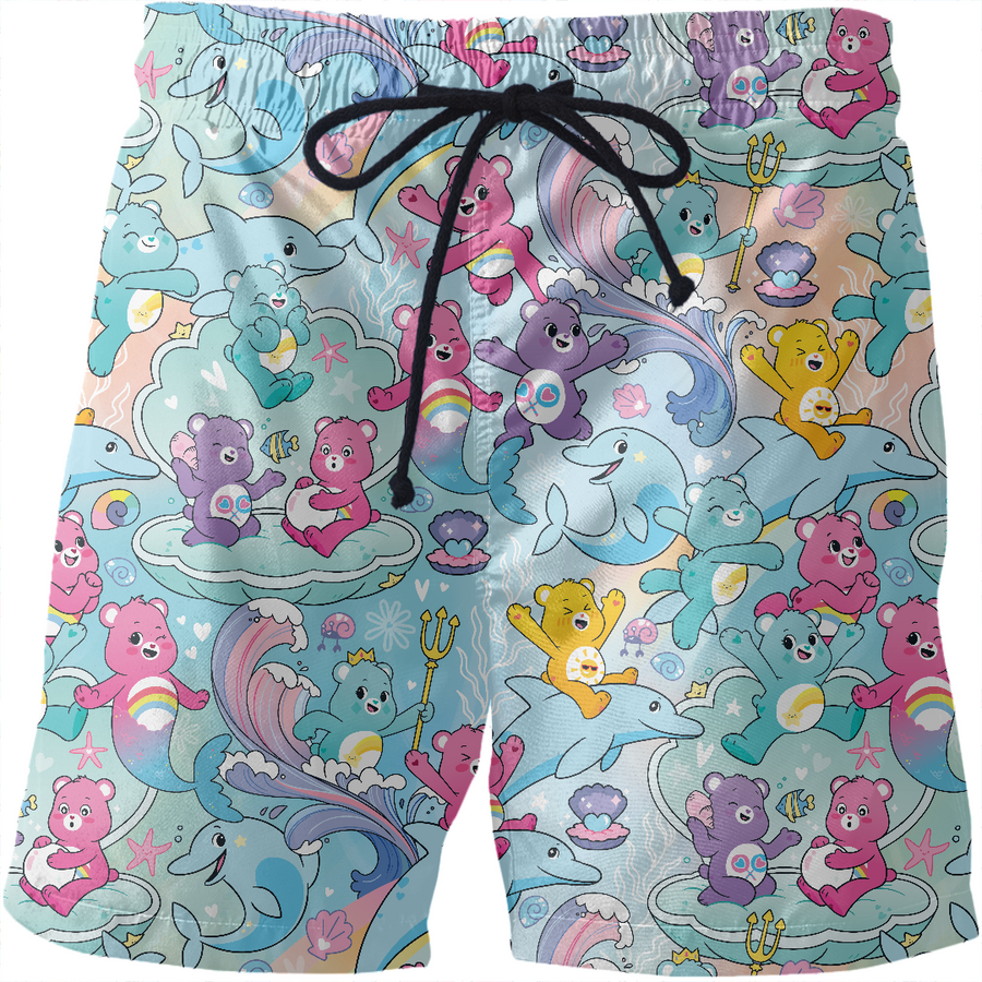 Care Bears Merbears are Magic Swim Shorts