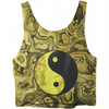 Yin And Yang Crop Top