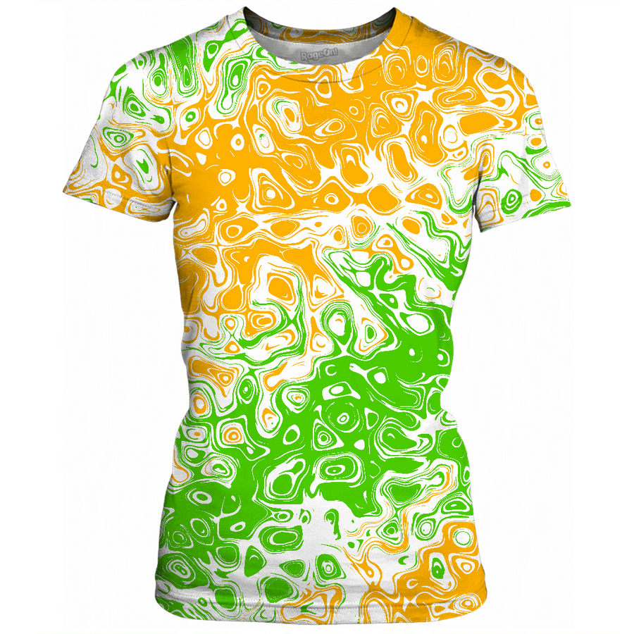 Irish Abstract Womens T-Shirt