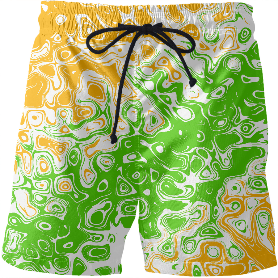 Irish Abstract Swim Shorts
