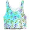 Topsy Turvy Tropical Crop Top