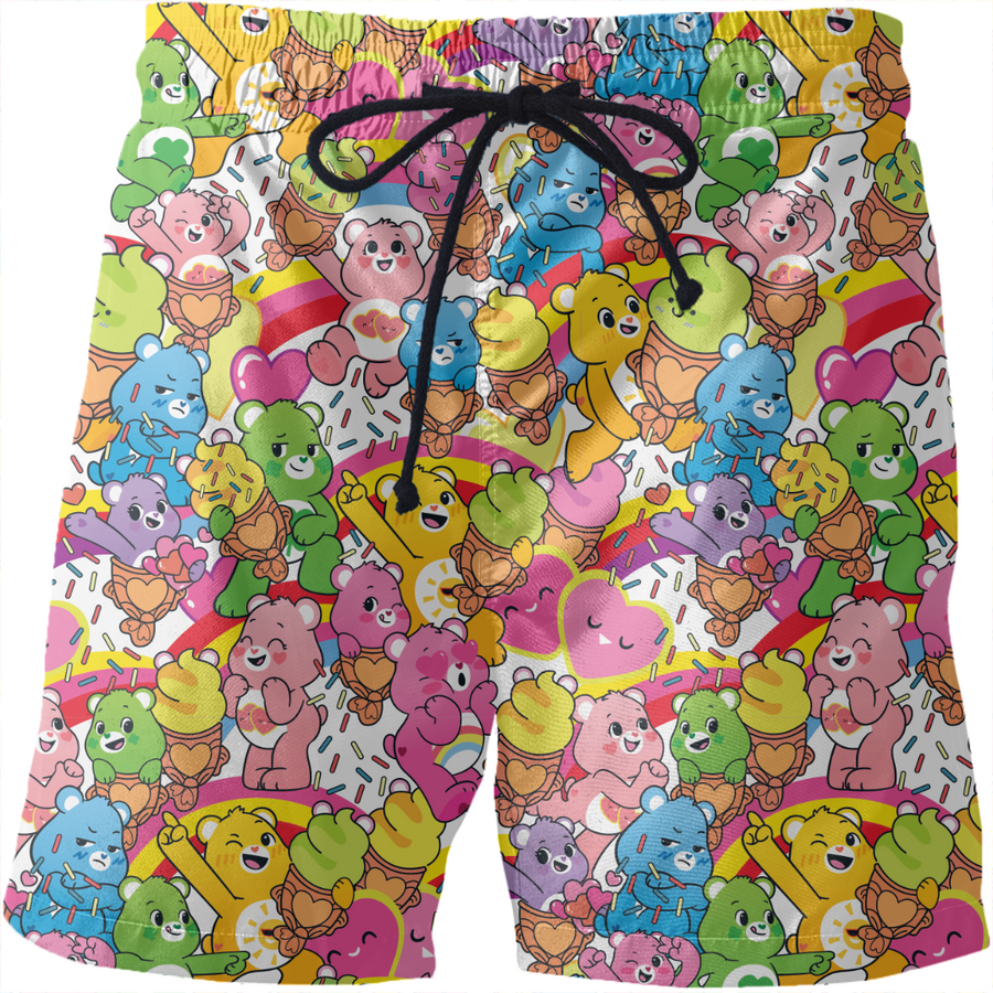 Care Bears Sweet Summer Treats Swim Shorts