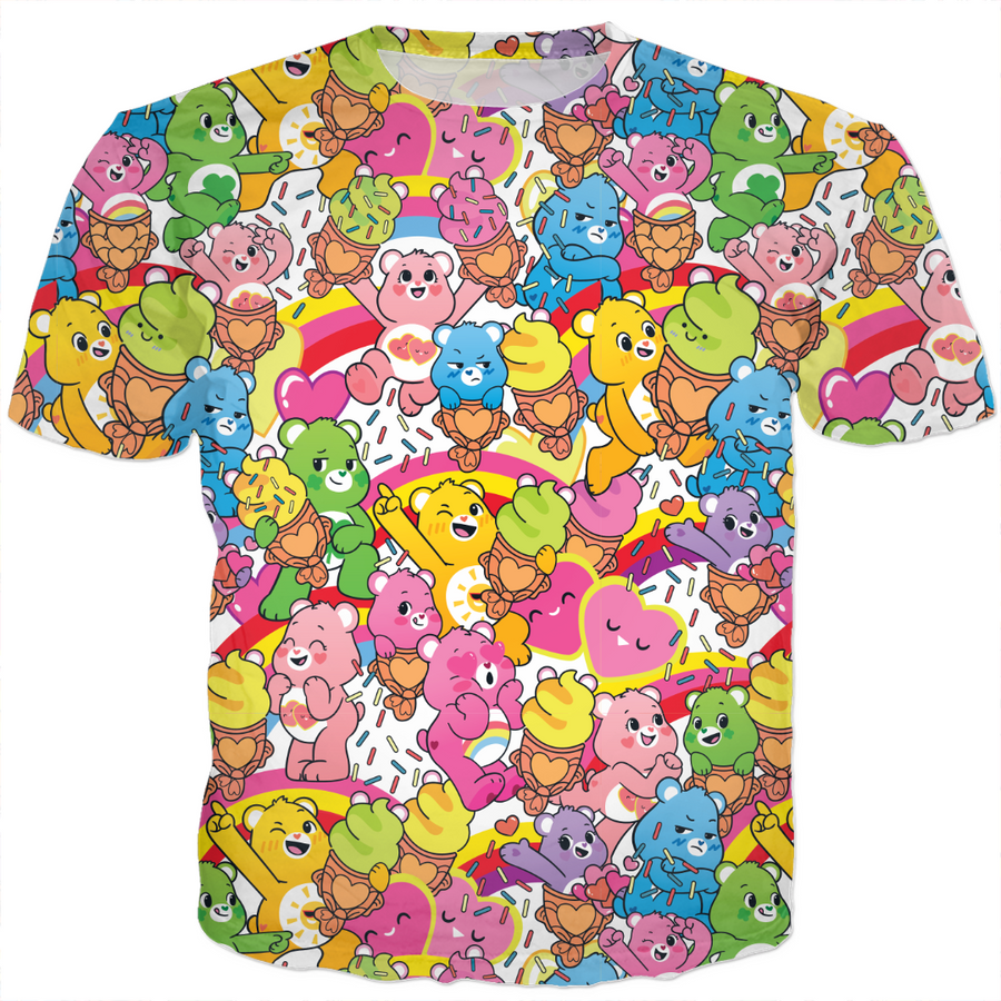 Care bears Sweet Summer Treats T-Shirt