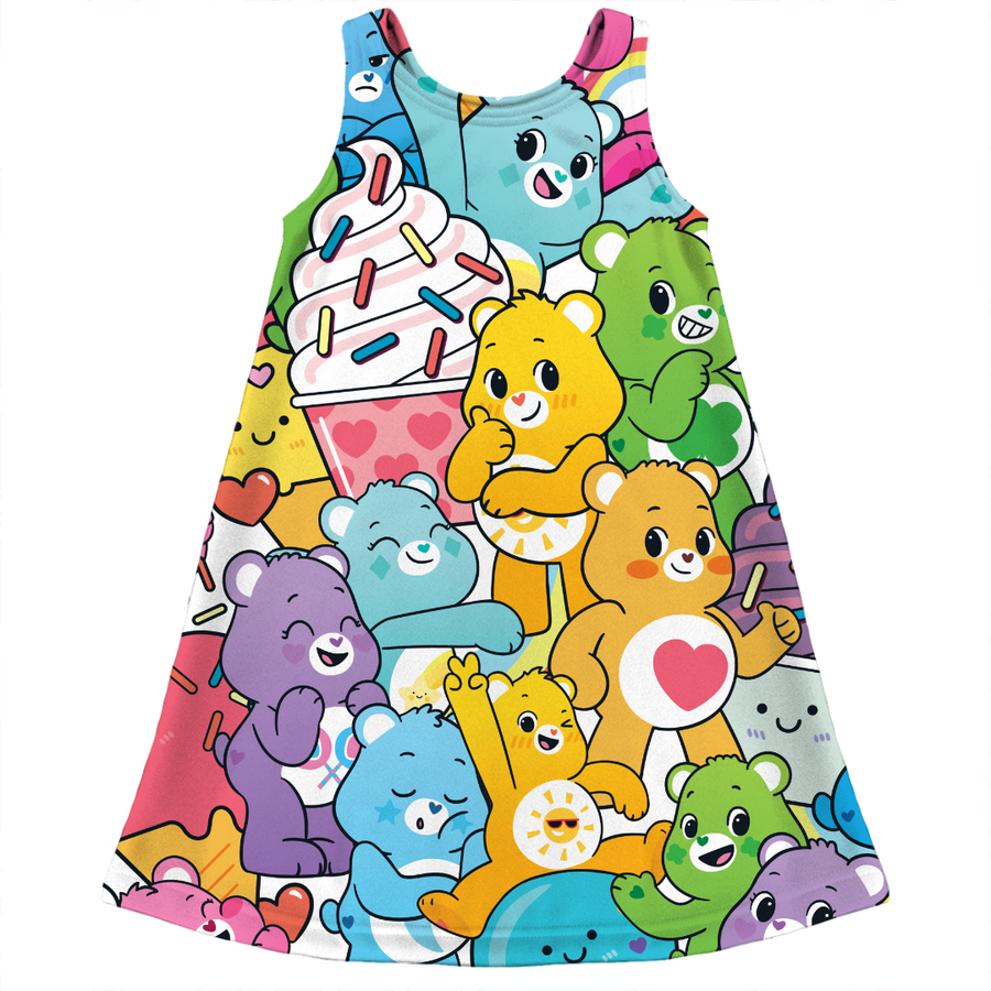Care Bears Ice Cream Party Kids Dress