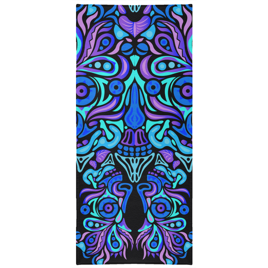 Summer Night Vibes - Beach Towel