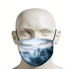 Foggy Forest Face Mask