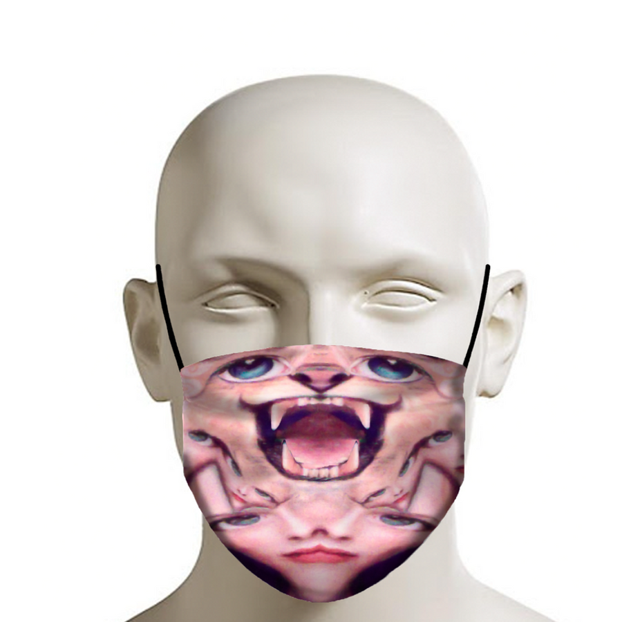 Wild Cat - Face Mask