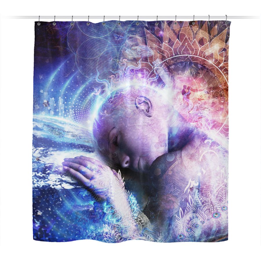 A Prayer For The Earth - Shower Curtain