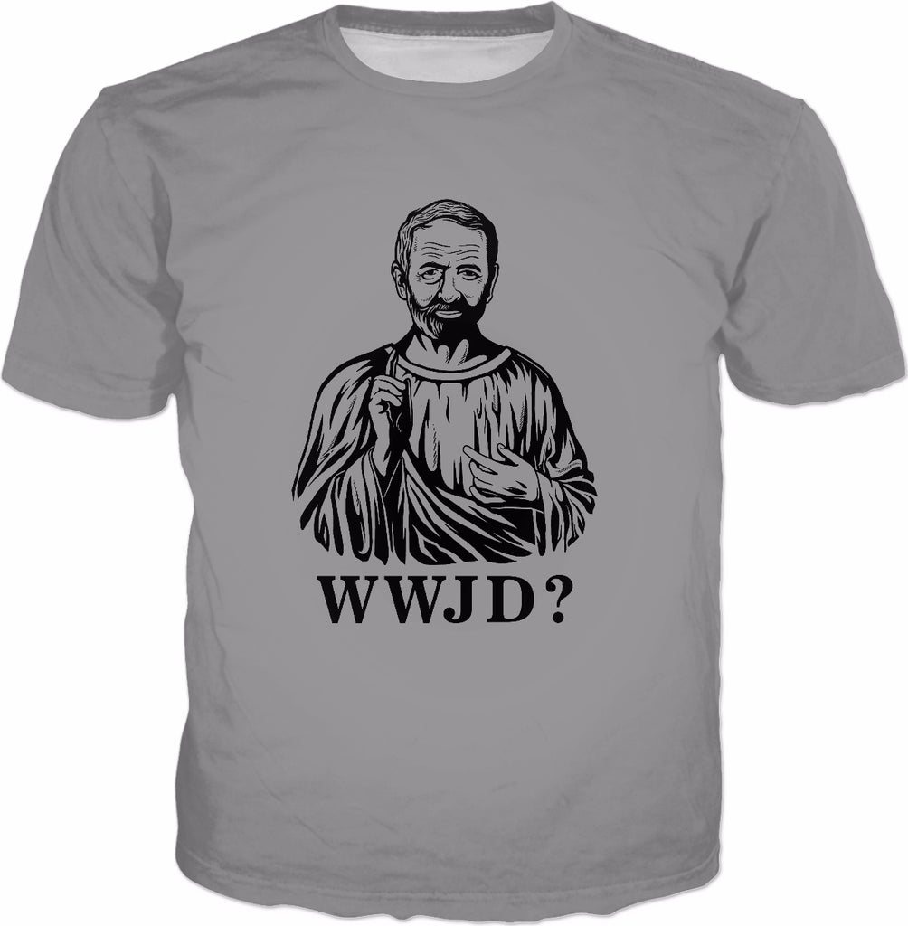 What Would Jeremy Do? T-Shirt - WWJD Corbyn Labour Funny