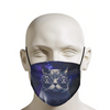 Hipster Cat Face Mask