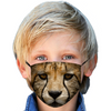 Big Cats Cheetah Kids Face Mask