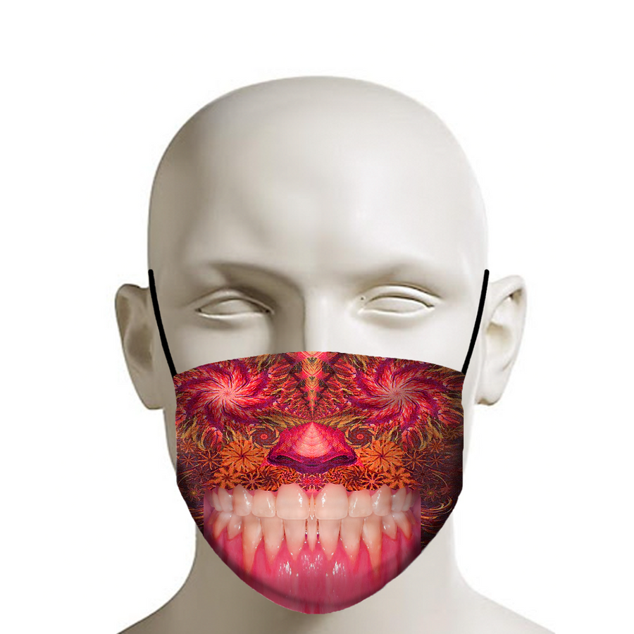Crazy Mouth - Face Mask