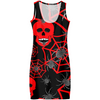Red Skull Halloween Dress
